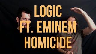 Logic Featuring Eminem - Homicide (Metalheads React To Hip Hop)