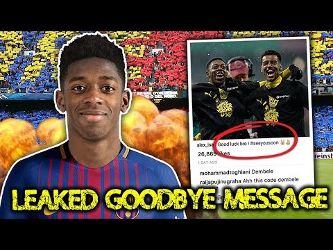 LEAKED: Borussia Dortmund Star Confirms Move To Barcelona!  | Transfer Talk