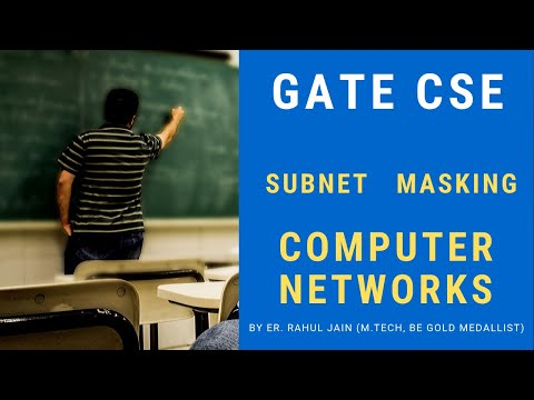 Subnet Masking | Subnet Id | Computer Networks for Engineering Syllabus, GATE, NET, ISRO, BARC