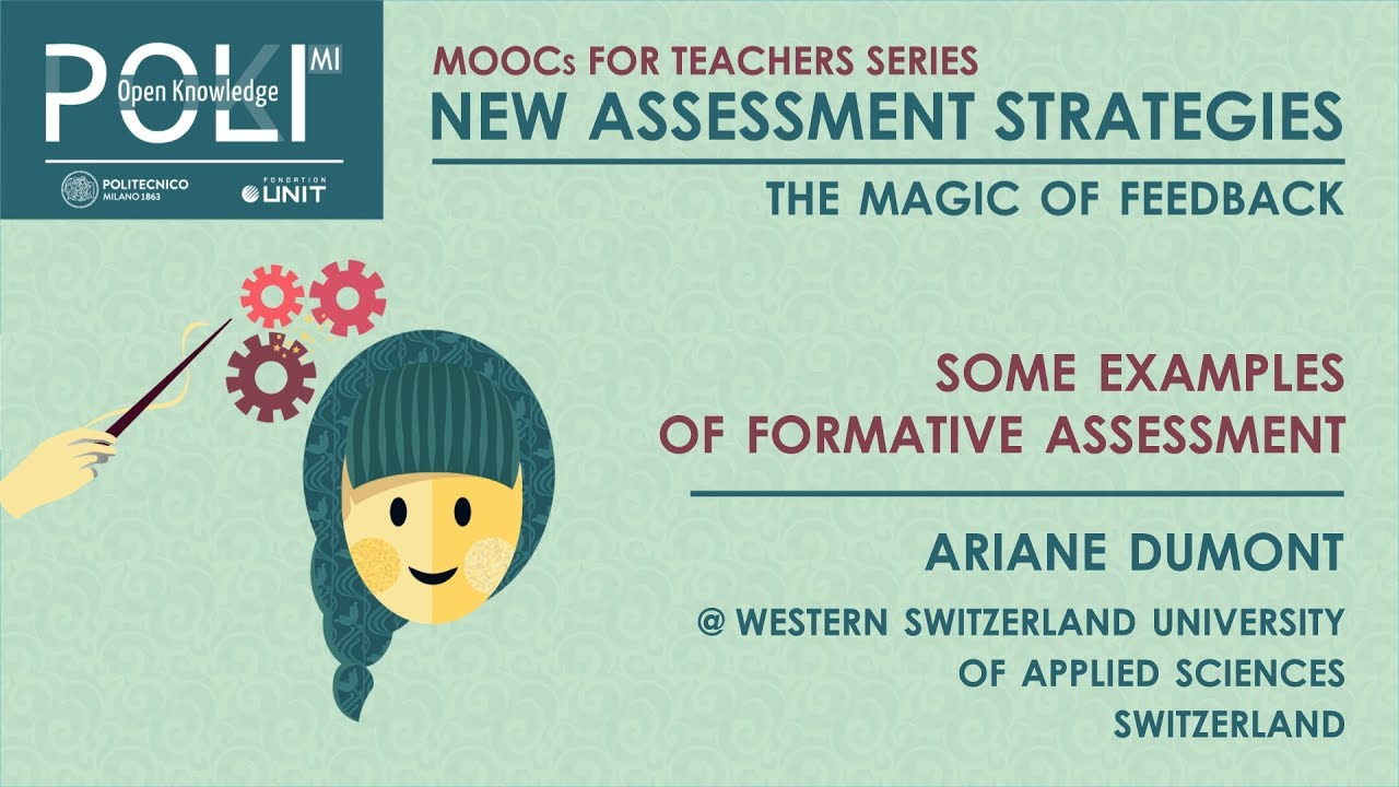Some Examples Of Formative Assessment Ariane Dumont Youtube