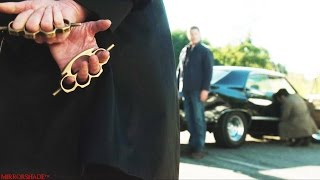 Supernatural (12x01) - Brass Knuckles Fight Scene