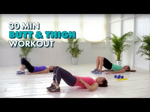 Sculpt a Sexy Butt and Thighs - CafeMom Studios Workout - Season 2 Episode 2