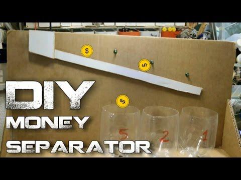 DIY Money Separator - (coin sorter)