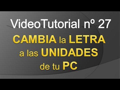 TPI - Videotutorial nº27 - Como CAMBIAR la LETRA a las UNIDADES de tu PC