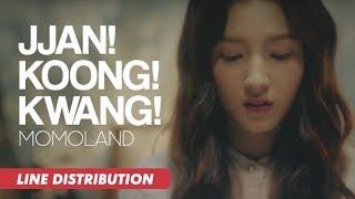 MOMOLAND (모모랜드) - JJAN! KOONG! KWANG! (짠쿵쾅) | Line Distribution