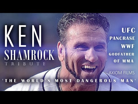 KEN SHAMROCK (HD)' GODFATHER OF MMA' TRIBUTE, KING OF PANCRASE, WWF, UFC, LIFESTORY