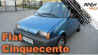 1992 Fiat Cinquecento 900 | Review | Test Drive | 4K