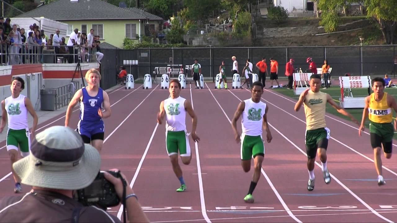 2012 rhl track 100 meters men s varsity league finals youtube