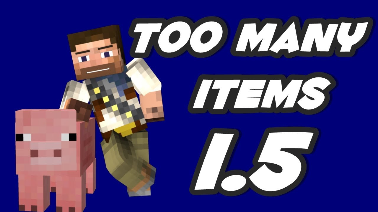 too many items 1.5.2