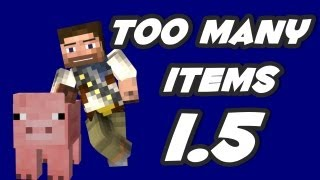 how to install too many items 1 5 2 minecraft mod download tutorial