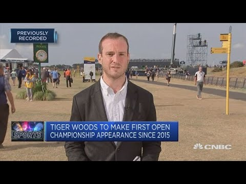 Tiger Woods to make first Open Championship appearance since 2015 | CNBC Sport