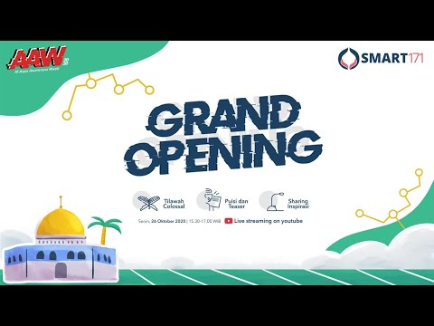 Grand Opening AAW 2020