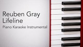 Lifeline (Piano Karaoke Instrumental) Reuben Gray