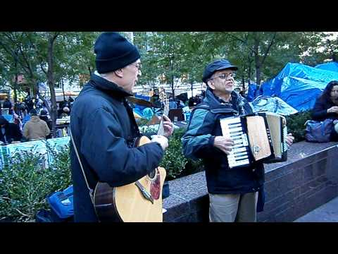 Occupy Wall Street - Official Theme Song?