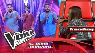 Download Kasun,Pasindu & Lakindu - Kampa Nowan Mahamaya (මහාමායා) | Blind Auditions | The Voice Sri Lanka