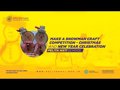 SNOWMAN CRAFT COPETITION presschool level