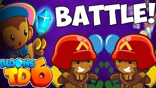 Bloons TD 6 BATTLE! 🎮 BTD6 🎮 Bloons Tower Defense 6