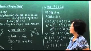 Toán 7. Các trường hợp bằng nhau của tam giác (Phần 2)