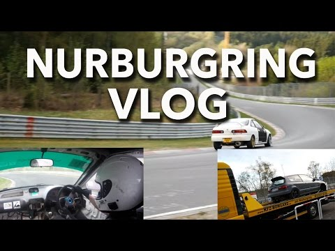 Fixing The DC2....and Enric Joins The Bongard Club. (Nurburgring VLOG)
