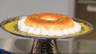 كريم كراميل بماء الزهر و ماء الورد | سالي فؤاد