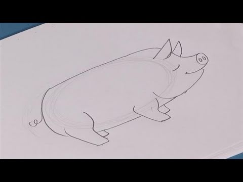 How To Draw A Cute Pig Step By Step - YouTube   480 x 360 jpeg 10kB