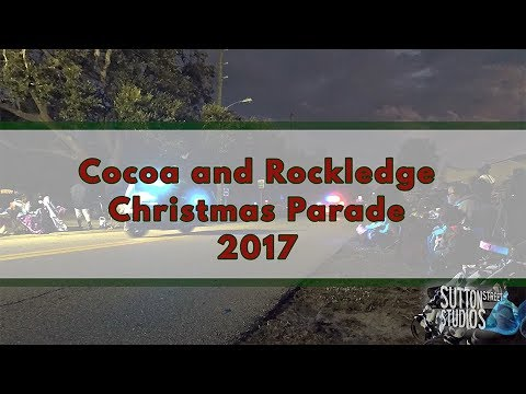Cocoa and Rockledge Christmas Parade 2017