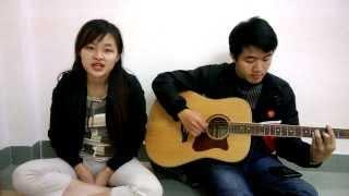 Em về tóc xanh-Mỹ Linh ft Hồng Anh (Acoustic Cover)