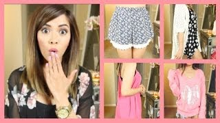 SPRING FASHION HAUL 2014! ❀ Forever 21, Wildfox, Windsor, Kaitlyn + More! - ThatsHeart Thumbnail