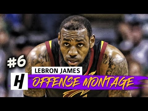 LeBron James EPIC Full Offense Highlights 2017-2018 Season (Part 6) - UNREAL PLAYOFF MODE!