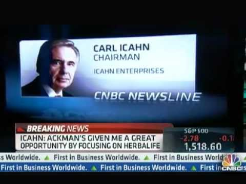 Carl Icahn: Why I Took a Monster Long Postion In Herbalife