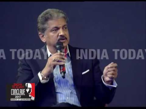 India Today Conclave 2017   The New Fault Lines Global Economy   Anand Mahindra & Amitabh Kant