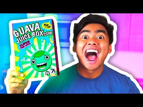 DIY GUAVA JUICE BOX! UNBOXING!