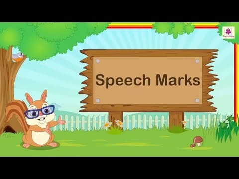 Speech Marks   How To Use Quotation Marks?   English Grammar   Periwinkle