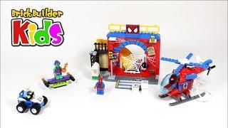 Lego Juniors 10687 Spider-Man Hideout – Lego Speed Build for Kids