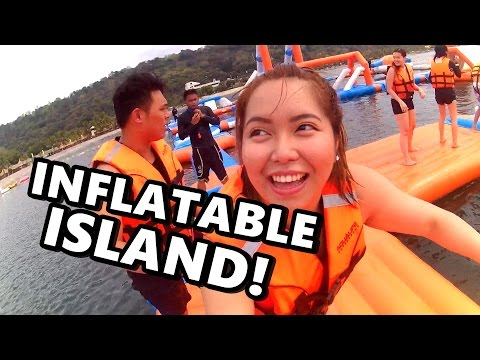 THE INFLATABLE ISLAND! A MUST TRY!!! (March 21-22, 2017)- saytioco