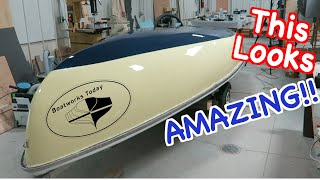ALL ROLL AND NO TIP ;) PAINTING YOUR BOAT WITH ALEXSEAL!