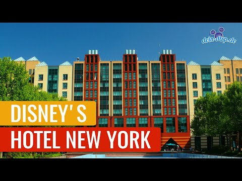 Disney's Hotel New York | Disneyland Paris Hotel Tour [DE/EN] [Untertitel/Subtitle]