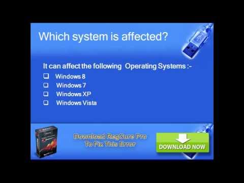 How to fix windows 7 error code 2738