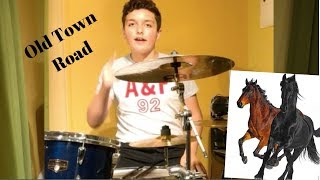 Baixar Old Town Road - Lil Nas X (feat. Billy Ray Cyrus) [Remix] - Single - Weekly Drummer