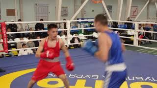 Альберт Гатаулин vs Антон Хорхонов. Чемпионат Бурятии по боксу 2019