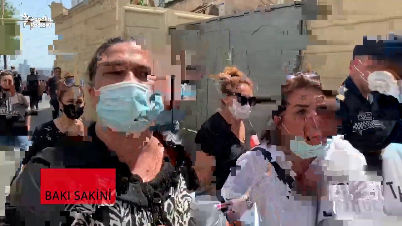 """""""İlham Əliyevə yalan deyirlər""""- Bakıda aksiya"""