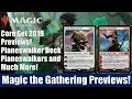 MTG Core Set 2019 Previews: Planeswalker Deck Planeswalkers and Much More