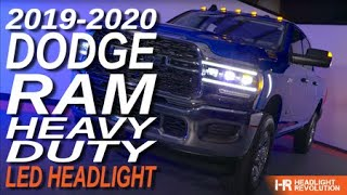 6x Brighter Headlights For Your 19+ Ram HD! Morimoto XB Headlight Review And Installation