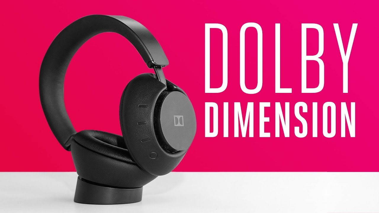 ac000ef1798 Dolby Dimension Review: $600 headphones for your living room - YouTube