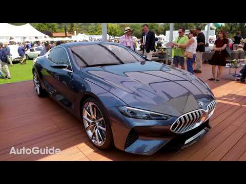 2019 BMW 8 Series Concept First Look - 2017 Monterey Car Week Coverage