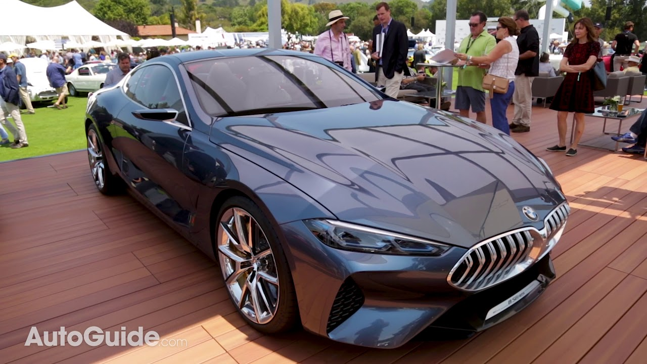 2019 Bmw 8 Series Concept First Look 2017 Monterey Car Week Coverage Youtube