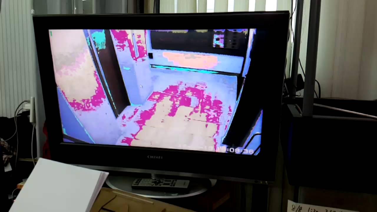 32吋液晶電視畫面呈現油畫 負片顏色 邏輯板故障 自己可以送修處理 500元搞定 - YouTube