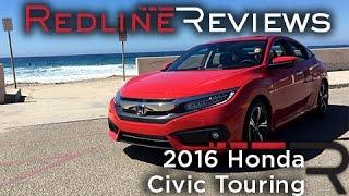 2016 Honda Civic Touring – Redline: Review
