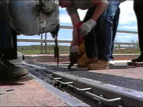 Delcrete Elastomeric Concrete Youtube