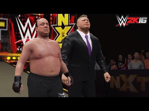 "WWE 2K16 PC Mods: ""The Beast"" Paul Heyman as a playable Superstar w/ his advocate Brock Lesnar"